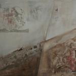Not Mary's land 2, Acryl/mixed media/canvas,      40/50cm