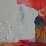 Dream,  Acryl/mixed media/ canvas/. 18/24cm