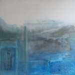 Feeling blue 1 Acryl/mixed media/canvas 100/100cm