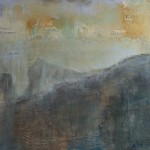 Landscape 1 Acryl/mixed media/ canvas 80/80cm