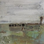 No man's land, Acryl/mixed media/canvas, 30/30cm